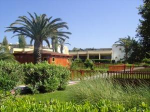 Grădina hotelului